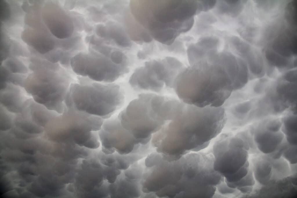 Texas Mammatus Clouds