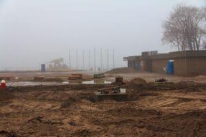 The Cedar Point season pass center during Gatekeeper Construction