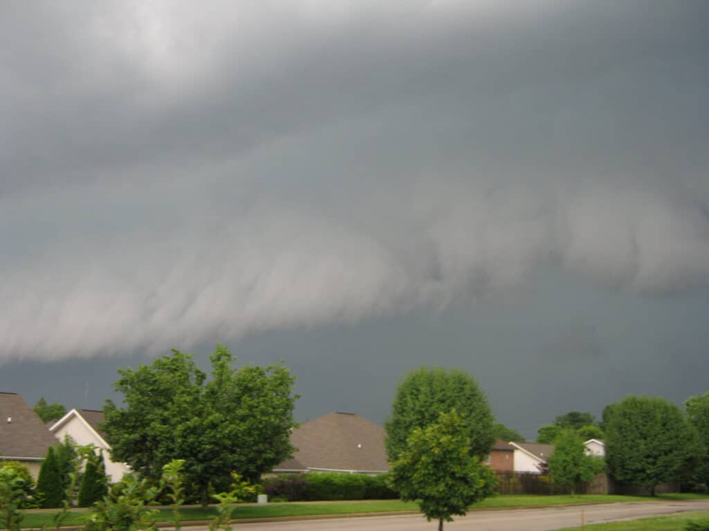 Indiana Shelf Cloud