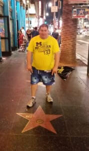 Ozzy's star on the walk of fame