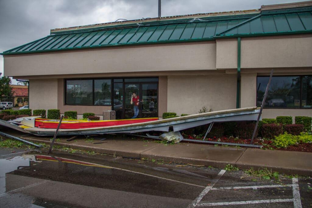 Norman, OK Tornado Damage