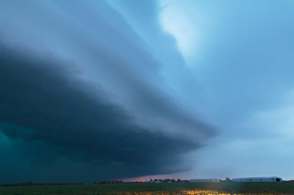 Oklahoma Shelf Cloud