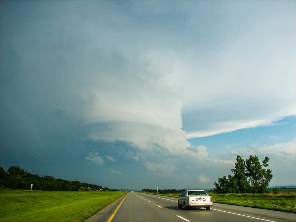 Oregon Missouri Hailstorm