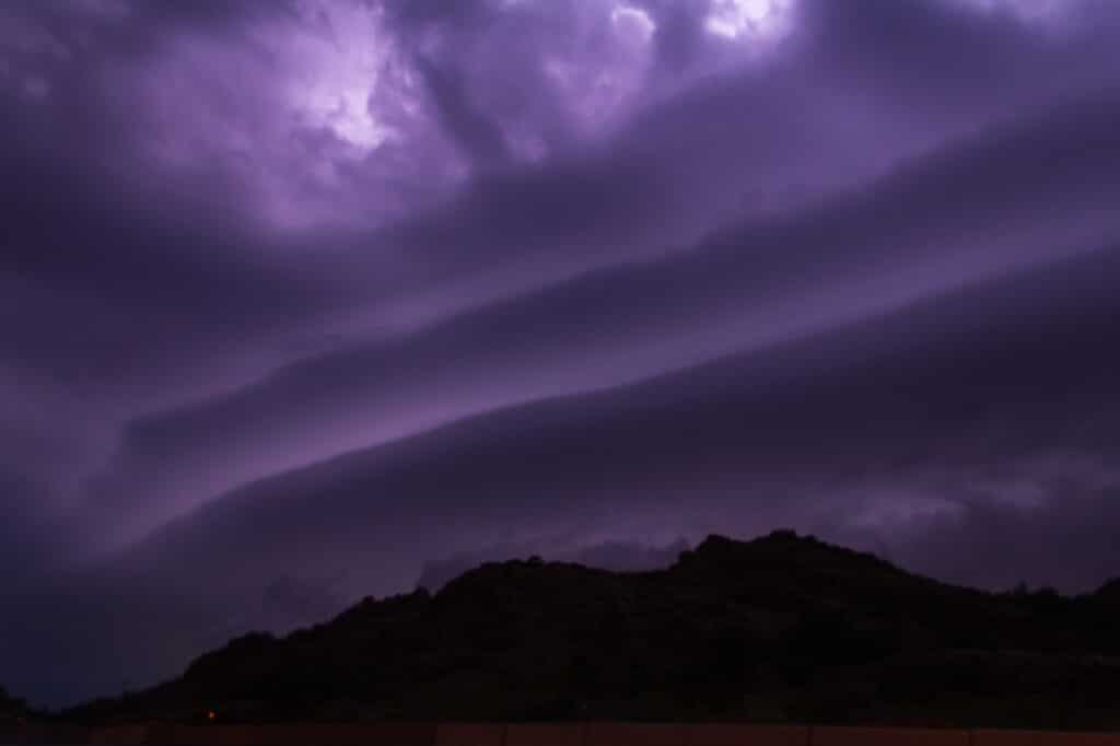 Quartz Mountain Shelf Cloud