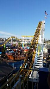 Roller Coaster on Santa Monica Pier