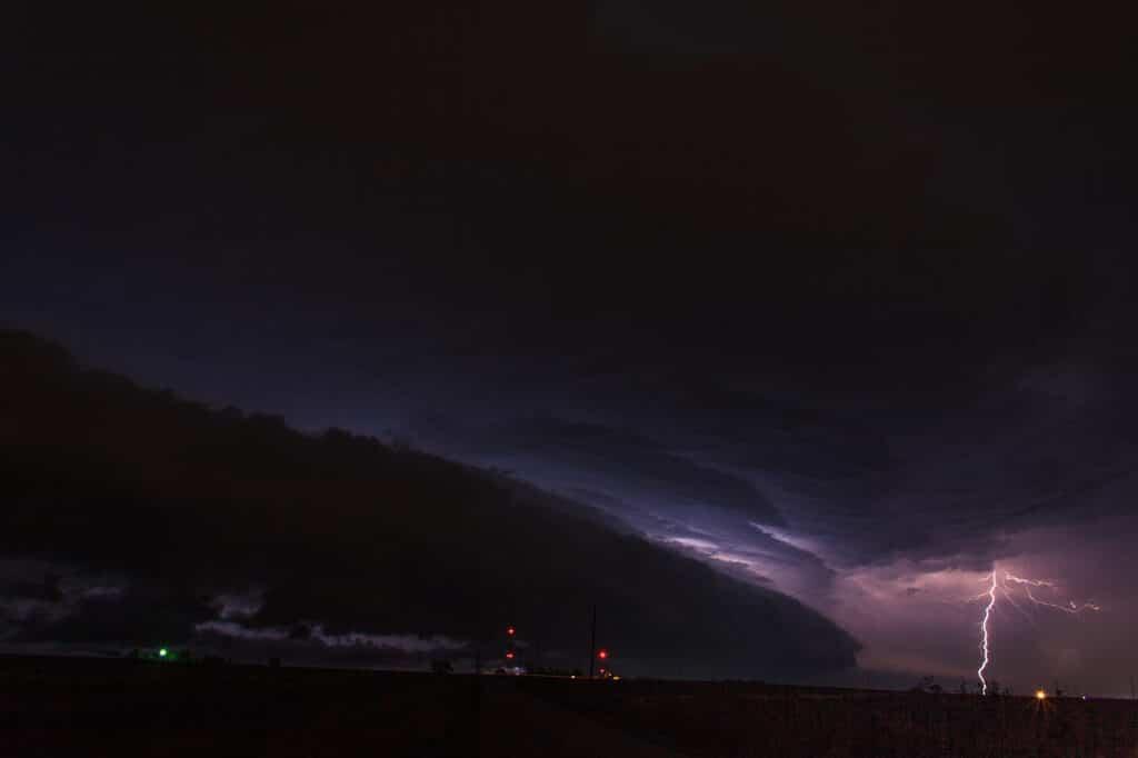 Stormy Oklahoma Night