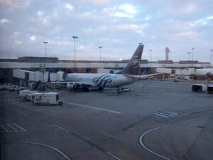 My plane from SLC-LAX