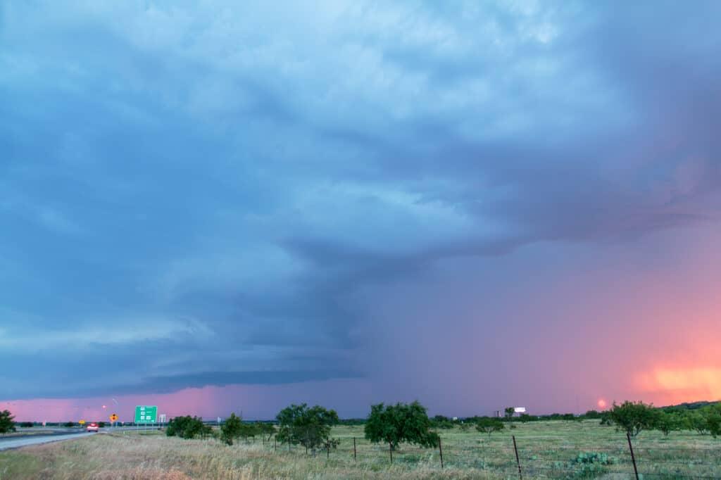 Storm near Jacksboro