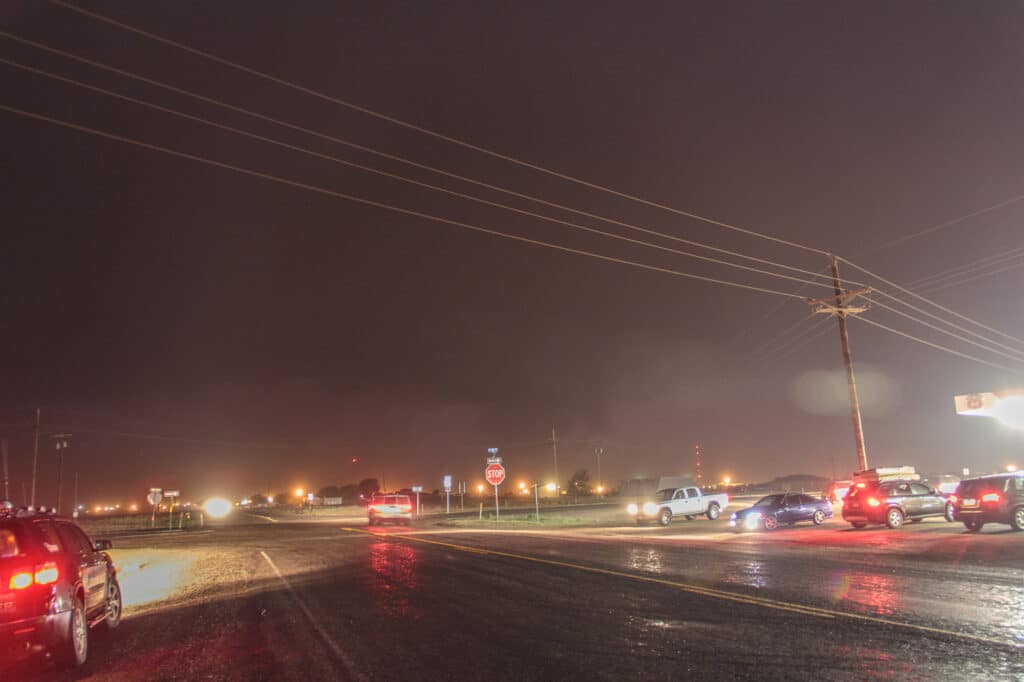 Storm near Lubbock Texas