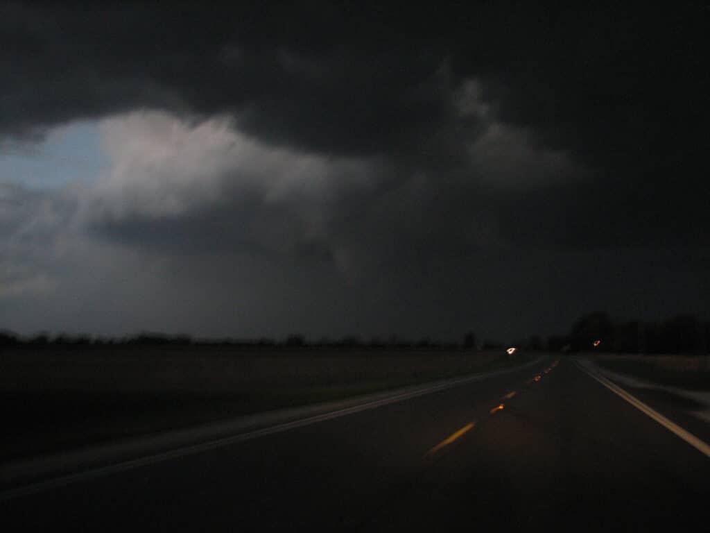 Storm near Metea, IN