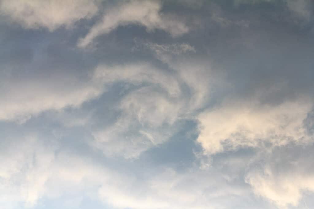Swirling Overhead