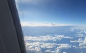 Nice storm seen on TUL-SLC flight