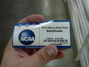 Ticket to the Semi Finals