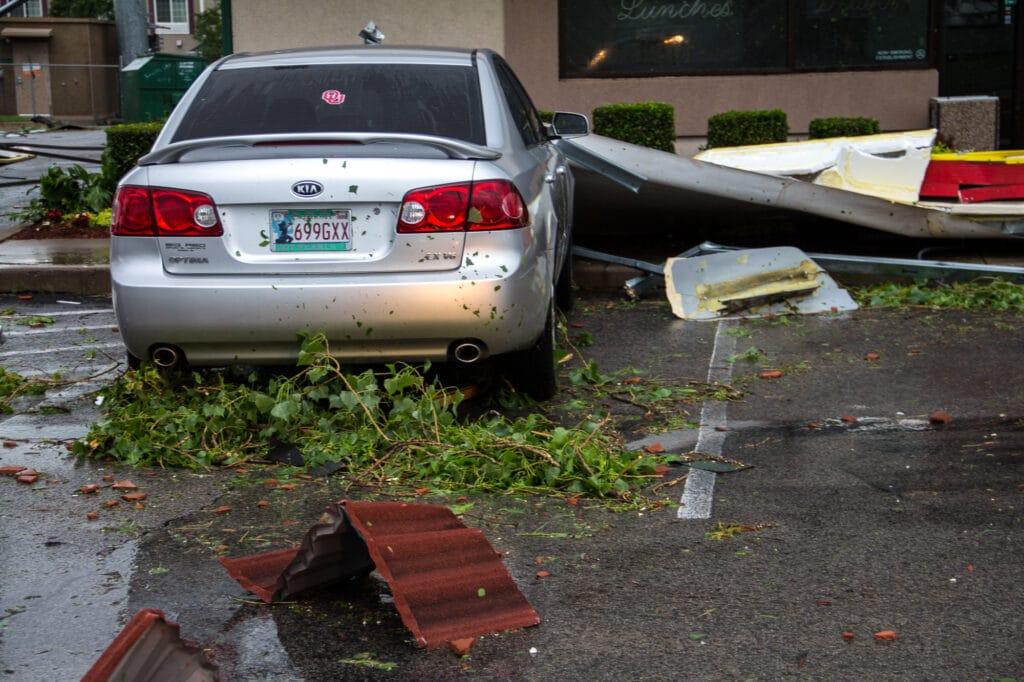Tornado Damage at Jasons Deli