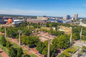 View from SkyView Atlanta