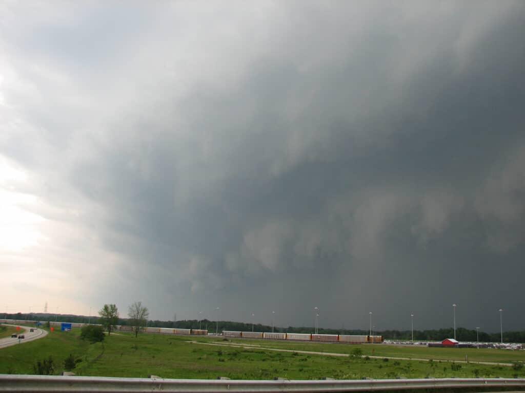 Derecho in Michigan on June 8, 2008