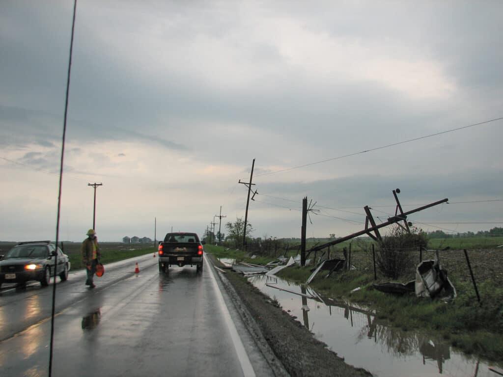 Edina Missouri Tornado Damage