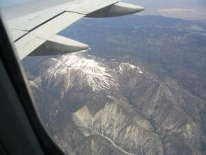 Flying over Mountains