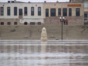 Grand Forks Flood Gauge