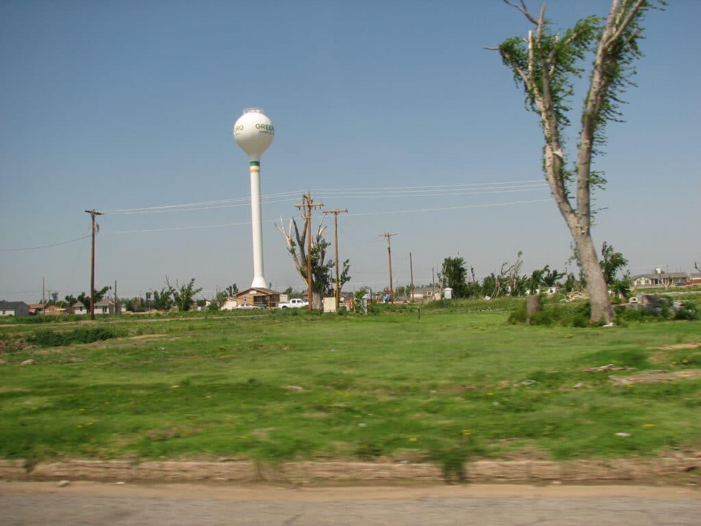 Greensburg Tornado Damage