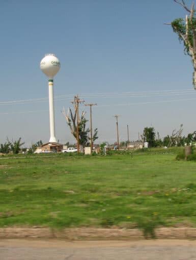 Tornado Damage in Greensburg, Kansas in May 2008