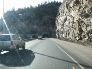 Tunnel on I70 West