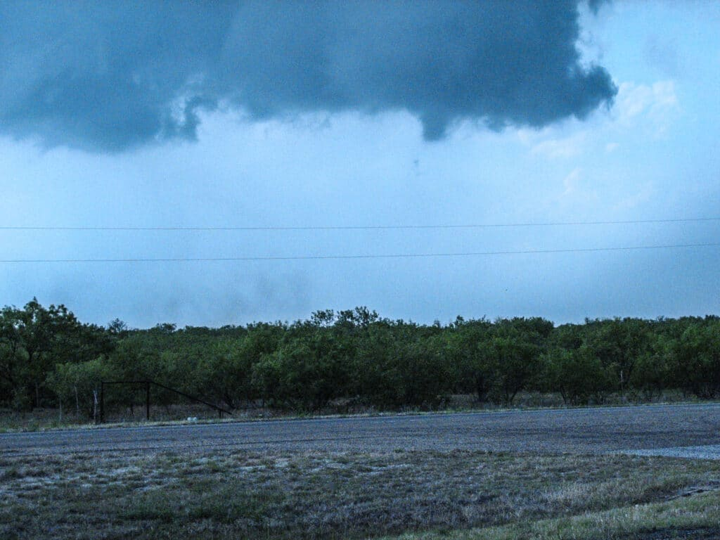 Probable brief tornado