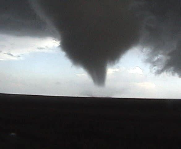 Tornado in Floyd County, Texas April 29, 2009