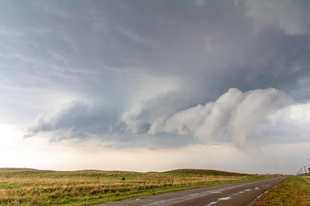 Storm Updraft near Cherokee