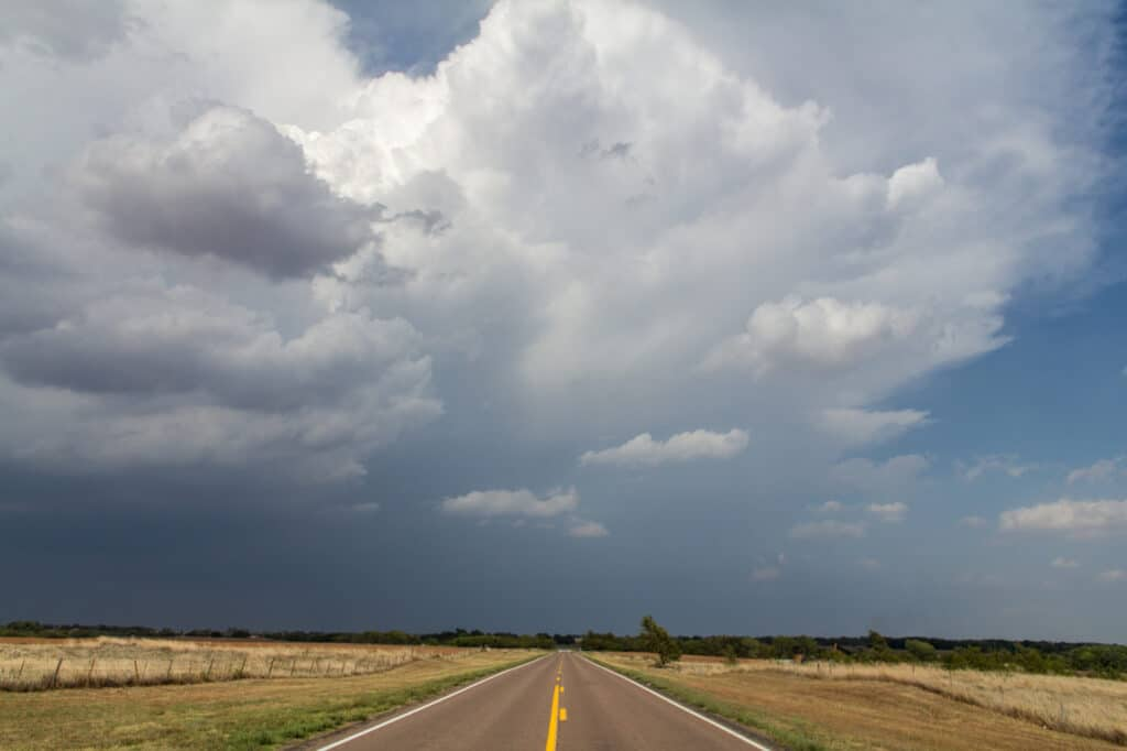 Storm near Cherokee