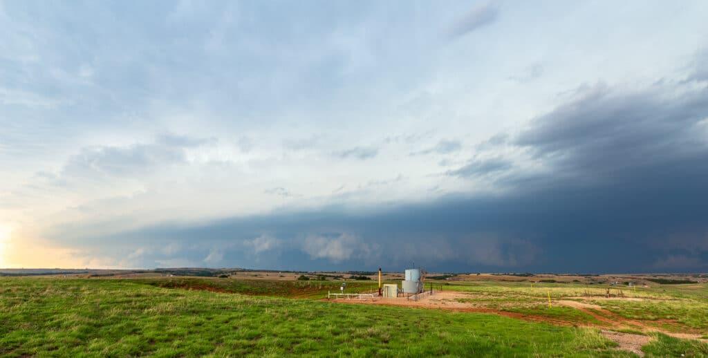 Storm near Waynoka