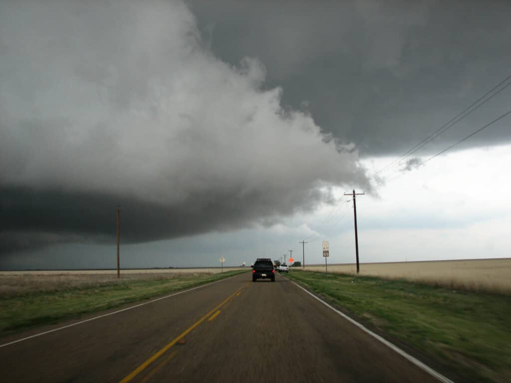 Wall Cloud in TX PH