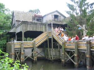 White Water Landing Station