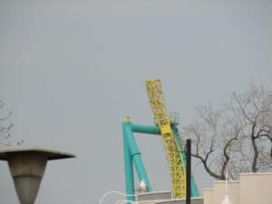 Track work on Wicked Twister