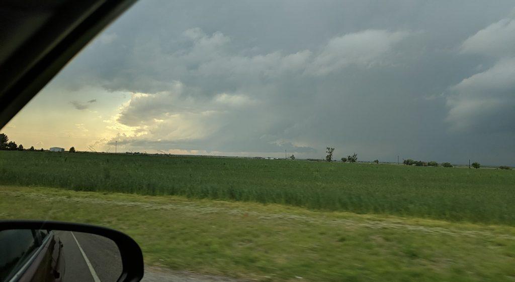First Vernon Texas Tornado from a far distance