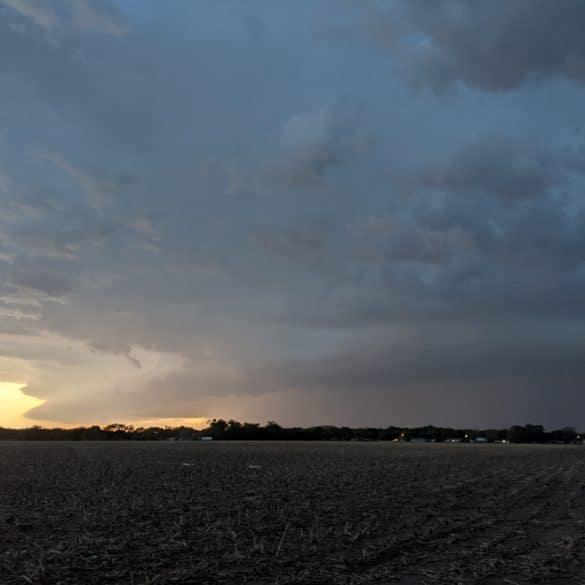 Supercell near Salina Kansas