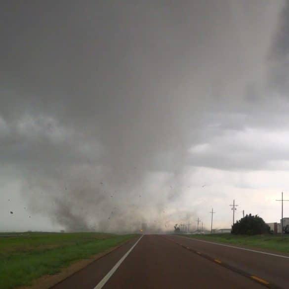 Selden, Kansas Tornado on May 24, 2021